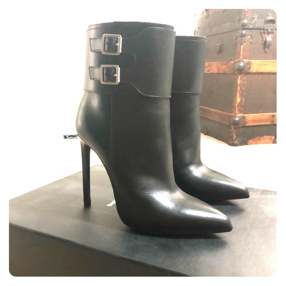 Saint Laurent Shoes | Booties | Poshmark